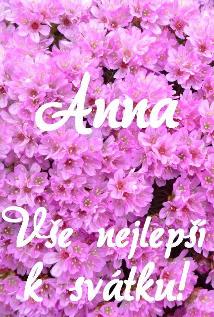 přání k svátku anna Přání k svátku podle ženských jmen   Přání k svátku Anna  přání k svátku anna