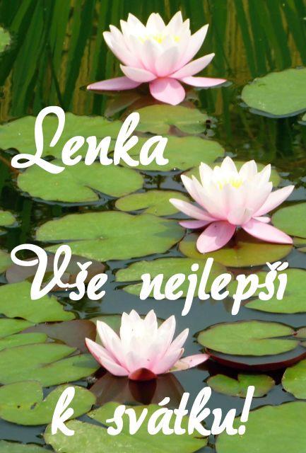 přání k svátku lenka Přání k svátku podle ženských jmen   Přání k svátku Lenka  přání k svátku lenka